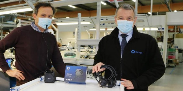 Innovation. Des micros pour les masques made in Bayeux
